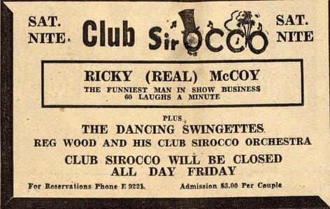 Photo- Club Sir OCCO Tc Ad 02151952  -   Club SirOCCO