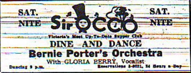 Photo- Club Sir OCCO Bernie Porter Tc Ad  -   Club SirOCCO