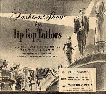 Photo- Club Sir OCCO Tiptop Fashion Show 1952  -   Club SirOCCO