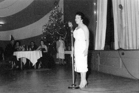 Photo- Verna Moore At The Sir OCCO Club December 1962  -   Club SirOCCO