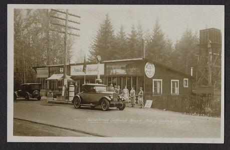 Photo- 1925  -   Hamsterley-Lakeside Toby Jug Tea Room  - Photo Credit:  Michael Rice