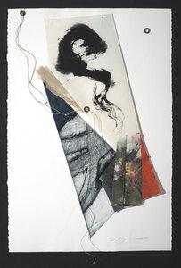 """ Extended Triangle I"" by  Heather Midori Yamada"