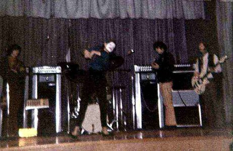 Photo- Picture taken at Oak Bay High School for an OBYC (Oak Bay Youth Council) dance cica 1967  -   Papa Bears Medicine Show