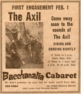 Photo- Baachanalia Ad Axil  -   Bacchanalia Cabaret