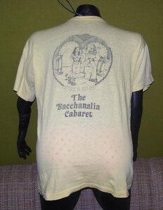 Photo- Bacchanalia Staff Shirt 2  -   Bacchanalia Cabaret