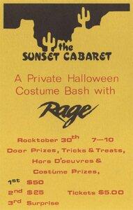 Photo- Rage  -   Sunset Cabaret