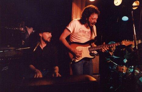 Photo- Powder Blues at the Sunset Cabaret Willie, Tom and Duris.  -   Sunset Cabaret