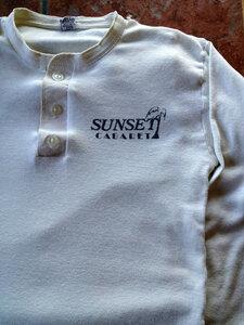 Photo- Sunset Cabaret T Shirt Front  -   Sunset Cabaret