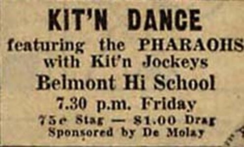 Photo- KITN ad for dance with \