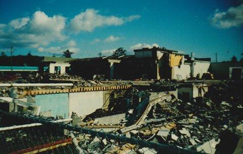 Photo- Champs Cabaret Demolition 1999  -   Champs Cabaret
