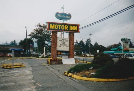 Photo- Westwind Hotel Sign 1999  -   Champs Cabaret