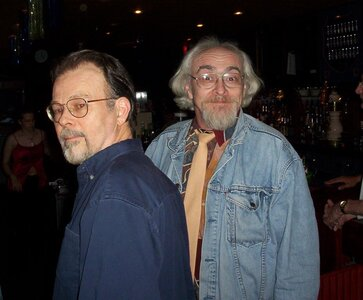 Photo- Newman Corey and Harry Creech  -   Brown Jug Cabaret