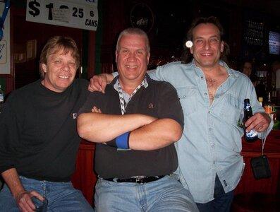 Photo- Brown Jug Reunion Ken Sherwood, Glenn Parfitt and Ross Damude  -   Brown Jug Cabaret
