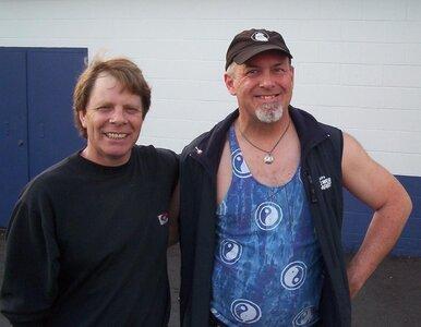 Photo- Brown Jug Reunion Ken Sherwood and Phil Rossner  -   Brown Jug Cabaret