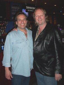 Photo- Brown Jug Reunion Ross Damude and Grant Gislason  -   Brown Jug Cabaret