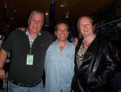 Photo- Brown Jug Reunion Glenn Parfitt, Ross Damude and Grant Gislason  -   Brown Jug Cabaret