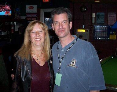 Photo- Brown Jug Reunion Elaine Len and Steve Poole  -   Brown Jug Cabaret
