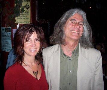 Photo- Brown Jug Reunion Sharon Wadsworth and John Fisher  -   Brown Jug Cabaret