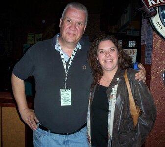 Photo- Brown Jug Reunion Glenn Parfitt and Colleen Young  -   Brown Jug Cabaret