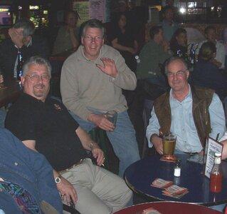 Photo- Brown Jug Reunion George Kilvington, Ernie Neiderer and Art Demeulles  -   Brown Jug Cabaret