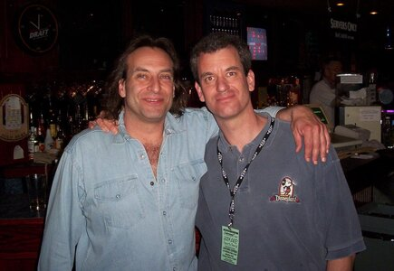 Photo- Brown Jug Reunion Ross Damude and Steve Poole  -   Brown Jug Cabaret