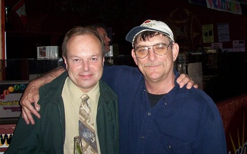 Photo- Brown Jug Reunion Brent Patriquin and Al Edwards  -   Brown Jug Cabaret