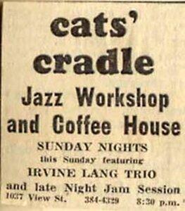 Photo- Catscradlead  -   The Cat\'s Cradle Jazz Workshop