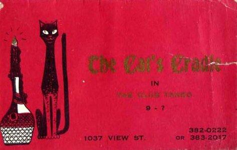 Photo- Catscradlebc  -   The Cat\'s Cradle Jazz Workshop