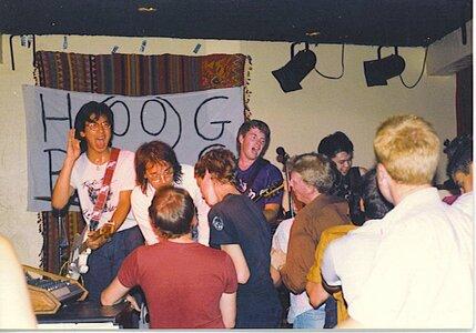 Photo- HBGS Opening For Slow At La Hacienda June 1985  -   La Hacienda