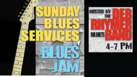 Sunday Blues Services - Blues Jam Hosted by the Deb Rhymer Blues Band: The Deb Rhymer Band @ Hermann's Jazz Club Oct 24 2021 - Oct 28th @ Hermann's Jazz Club