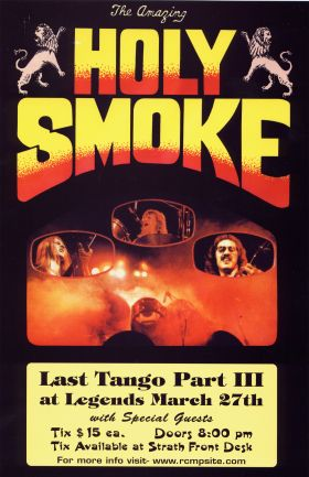 The Last Tango Part III: Holy Smoke, Guests TBA @ Element Mar 27 2005 - Feb 25th @ Element