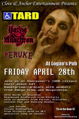 TARD, Horde Of Anachron, Peruke @ Logan's Pub Apr 28 2006 - May 25th @ Logan's Pub