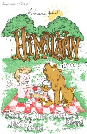 """Lo Lonesome Island"" release: The Himalayan Bear, Elephant Island, Run Chico Run @ Logan's Pub Jul 21 2006 - Feb 26th @ Logan's Pub"