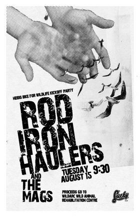 Heidi's Bike For Wildlife Kickoff!!!: Rod Iron Haulers, the MAGS @ Lucky Bar Aug 15 2006 - Apr 8th @ Lucky Bar