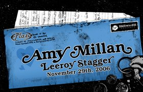 Amy Millan, Leeroy Stagger @ Plaza Club Nov 29 2006 - Oct 26th @ Plaza Club